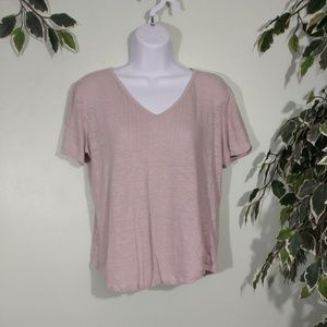 Poetry Linen Knit Blouse